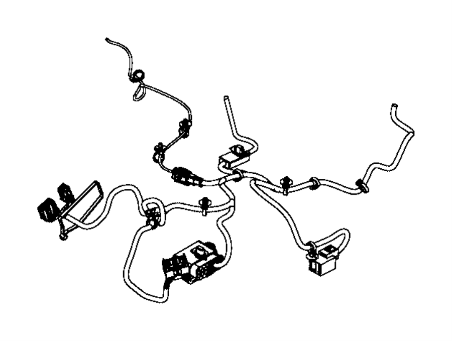 2016 Jeep Renegade Wiring. Seat, seat cushion. Drivers ...