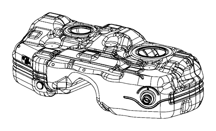 2015 jeep cherokee tank  fuel   15 8 gallons fuel tank   mopar