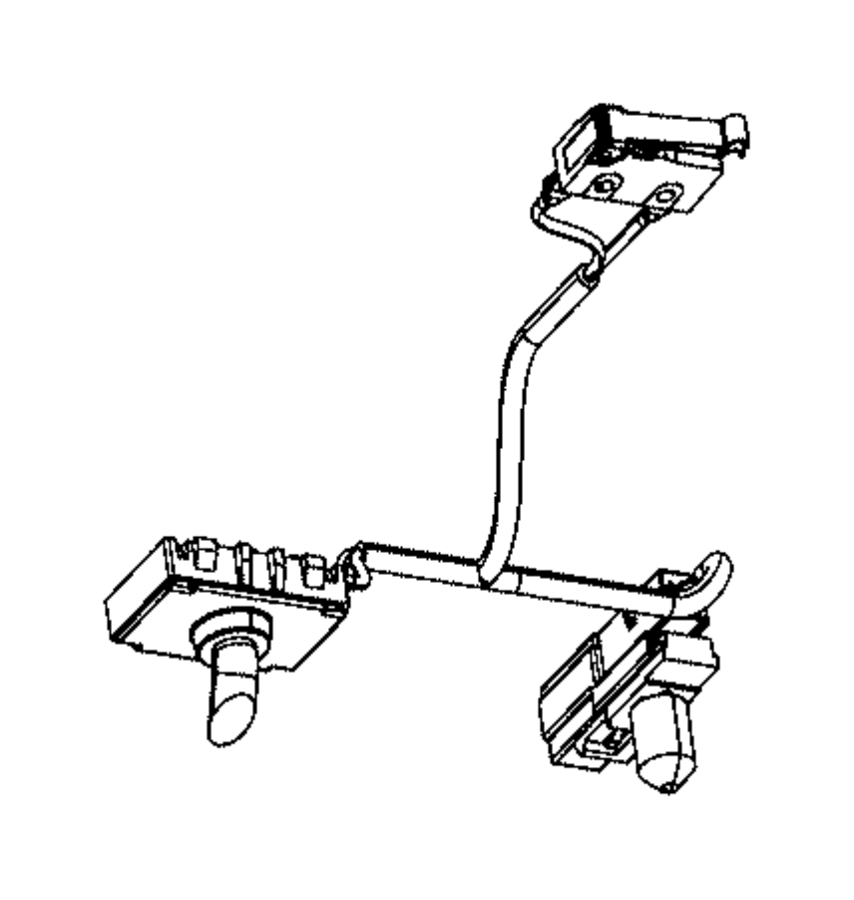 2015 chrysler 200 wiring courtesy lamp floor console bin. Black Bedroom Furniture Sets. Home Design Ideas