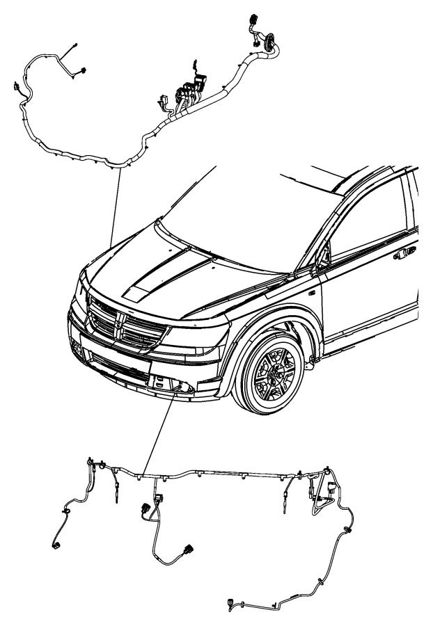 Dodge Journey Wiring  Headlamp To Dash