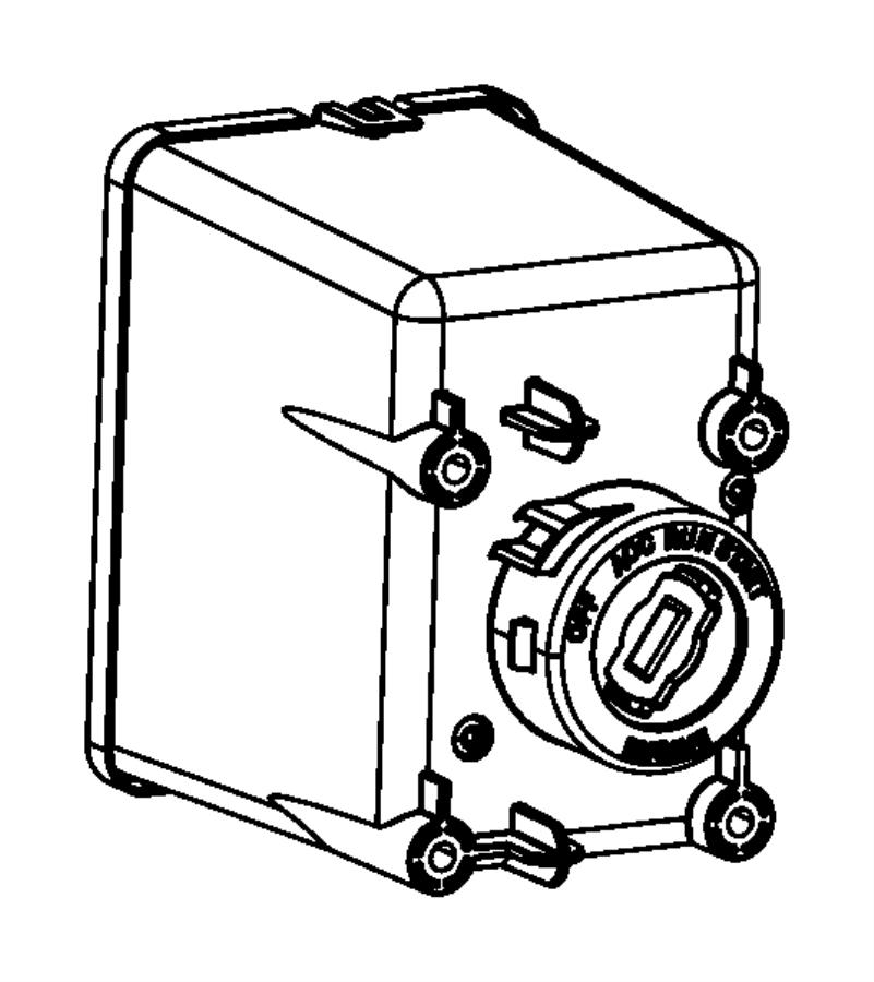 2015 dodge dart module  ignition switch  modules
