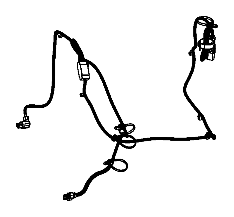 2015 dodge dart cord  engine block heater  module  train  power