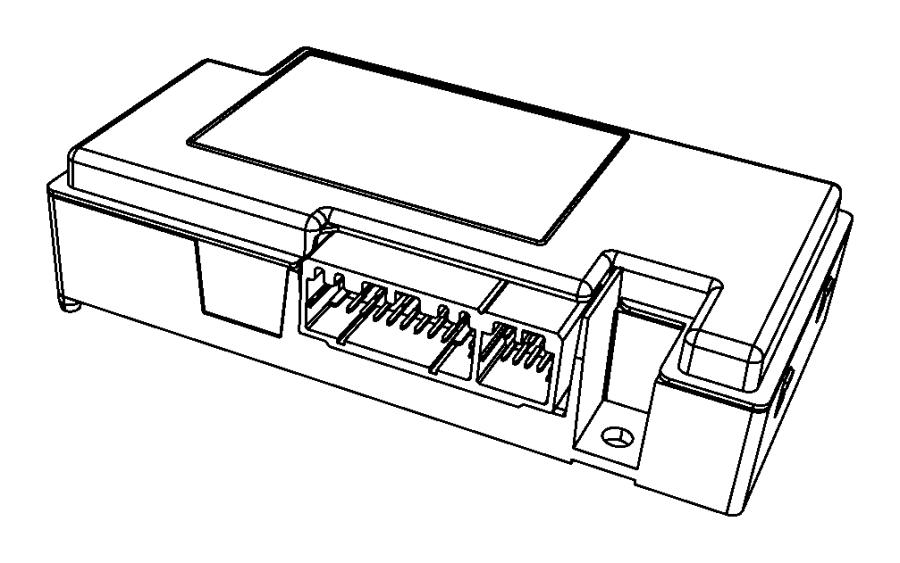 2016 Dodge Dart Module Telematics Uconnect Dvd Nav