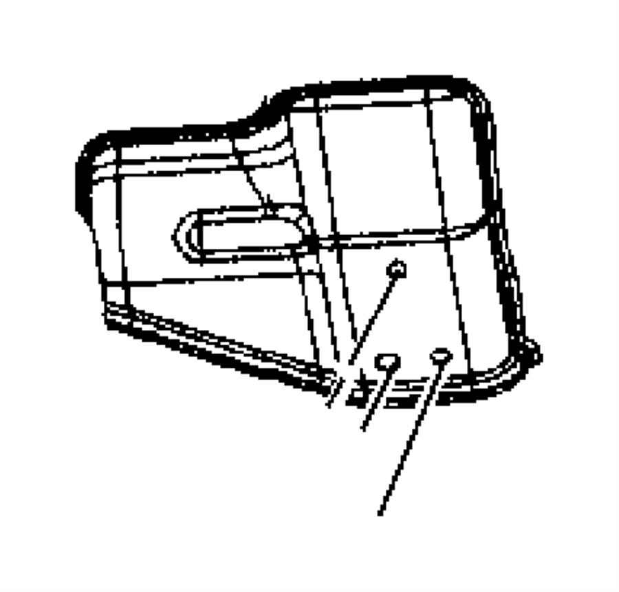 2014 jeep compass shield  heat  bearing  center  shaft