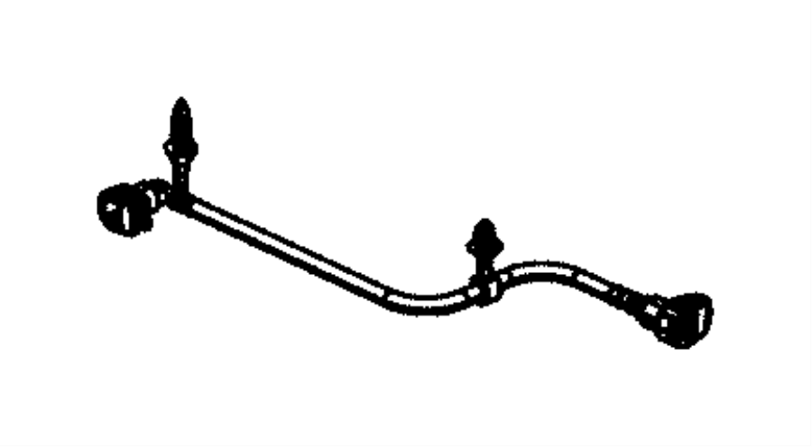 2016 dodge journey tube  fuel vapor recirculation  emissions  export  nam
