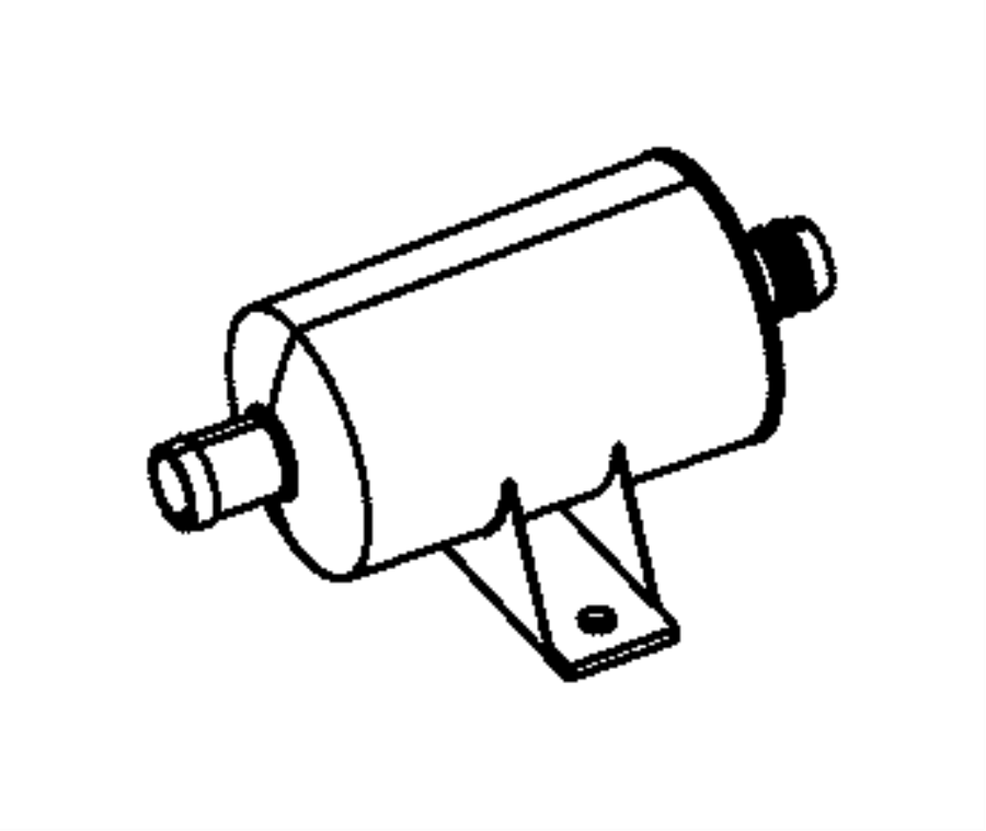 2015 ram 2500 filter  leak detection pump  saltillo