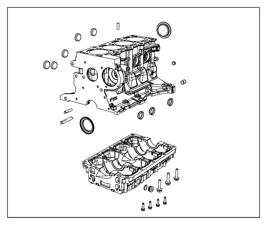 2014 dodge dart plug  core  m14  block  engine  cylinder