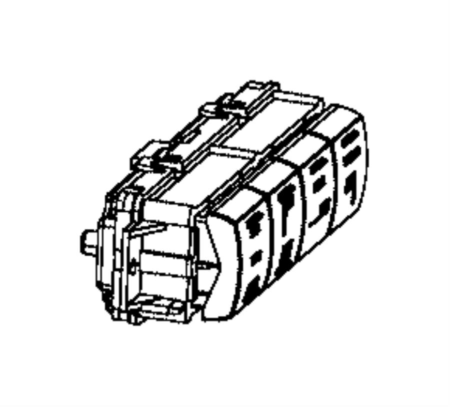 Dodge Grand Caravan Switch Folding Seat Power Folding