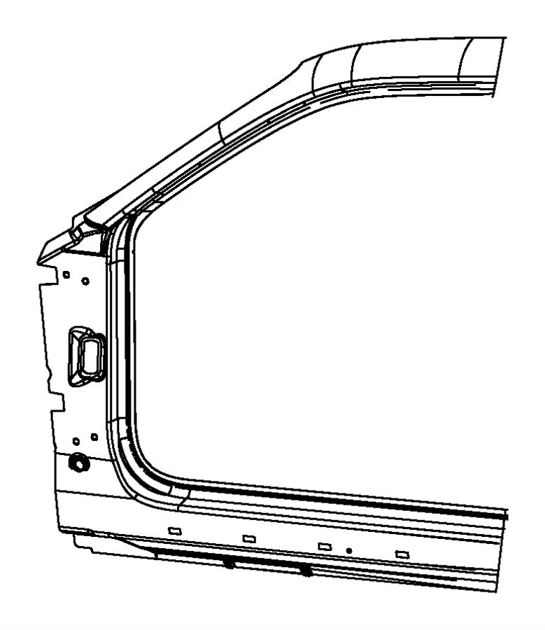 2010 dodge challenger panel  body side aperture front