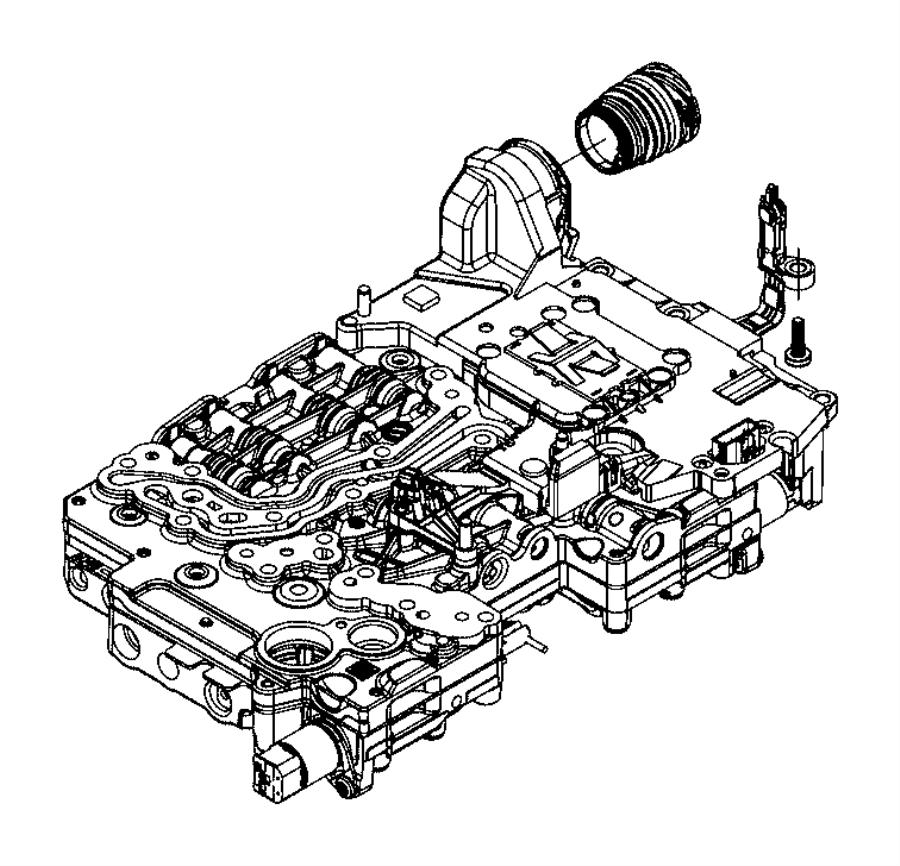 2016 Dodge Charger Sleeve Valve Body Rear Ratio Axle