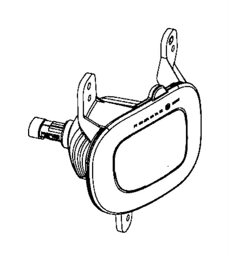 2015 jeep renegade lamp  rear fog  export  left  lamps  backup