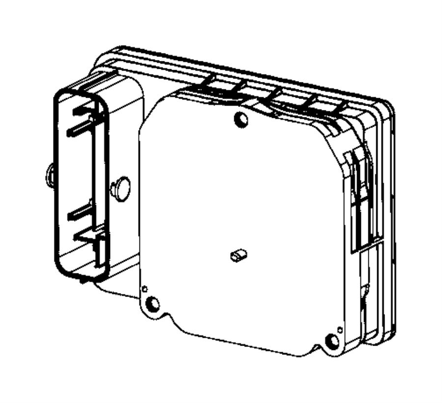 2016 dodge charger module  anti