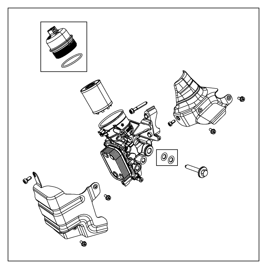 2015 jeep renegade shield  heat  upper  engine  spd  transmission