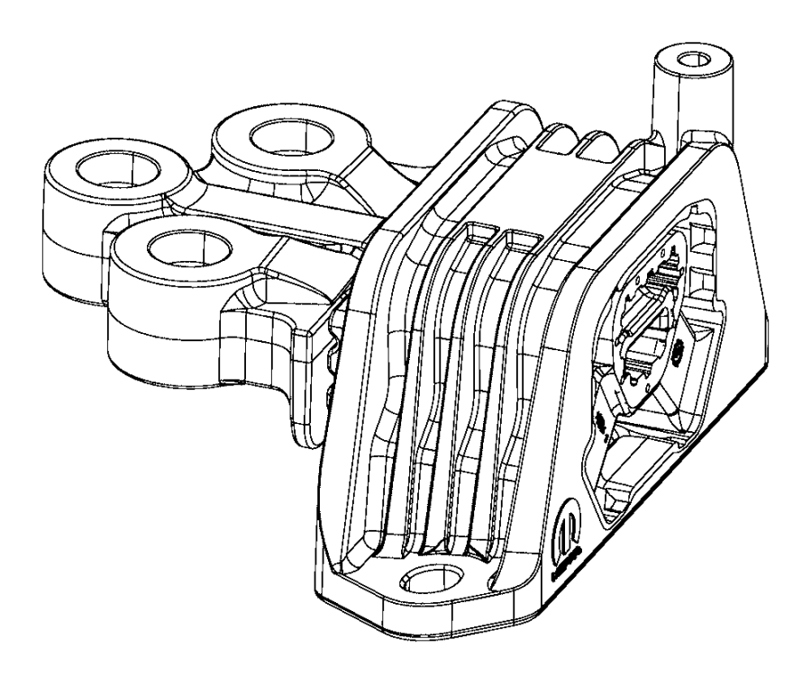 2016 jeep renegade damper  engine mount  after 12  18  2015  up to 12  18  2015