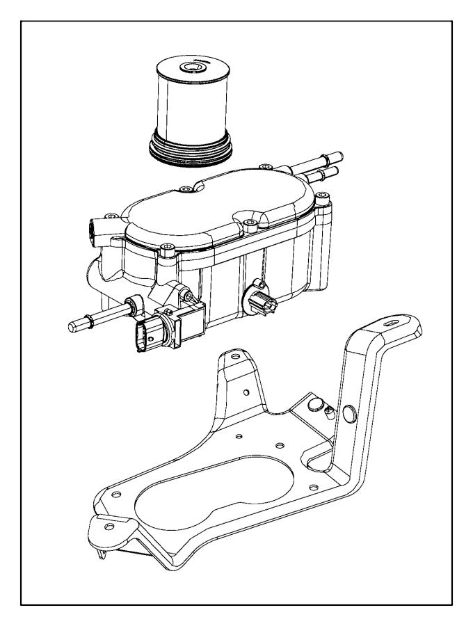 2016 jeep grand cherokee filter  fuel  water separator  maintenance