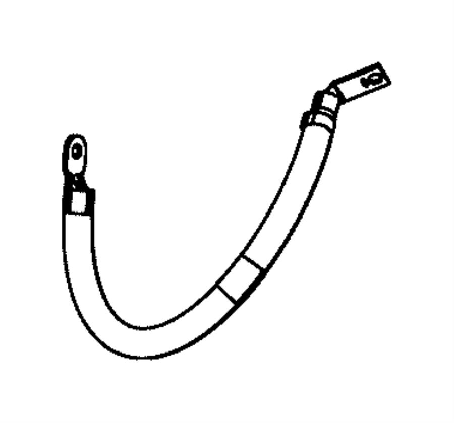 2016 dodge durango wiring  ground jumper  jumper