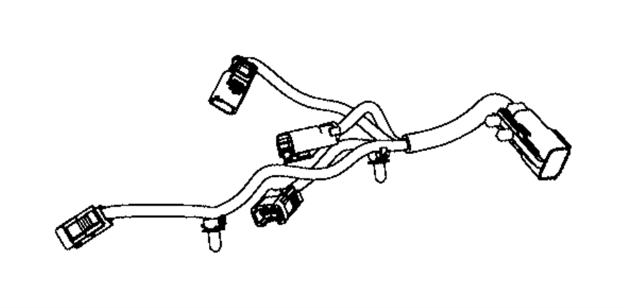 2015 jeep grand cherokee wiring  used for  knock  oil pressure  and temperature sensor  after 07