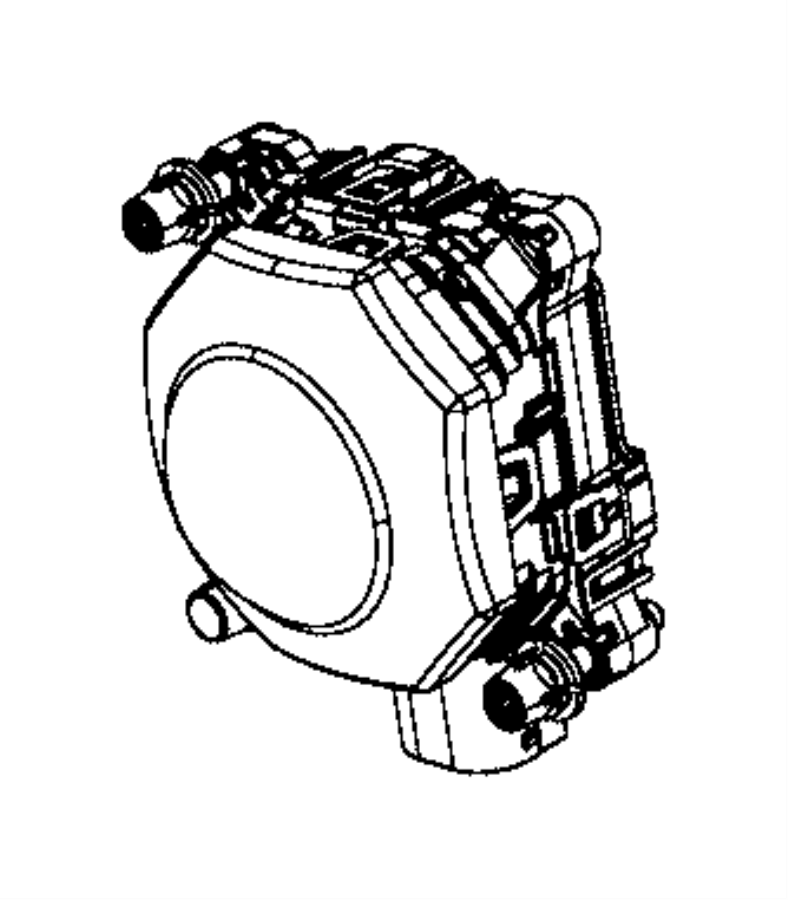 2016 dodge durango sensor  adaptive speed control modu