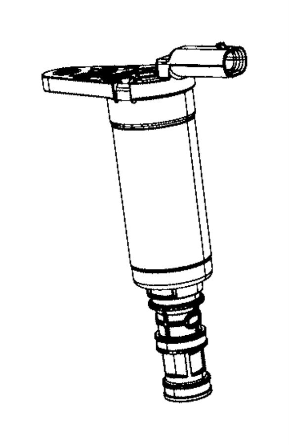 dodge durango solenoid  variable valve lift  front  use