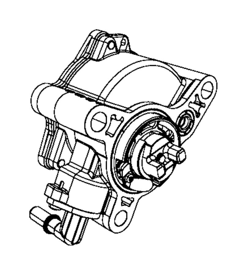 2018 Jeep Cherokee Hose  Brake Booster Vacuum  Maintenance