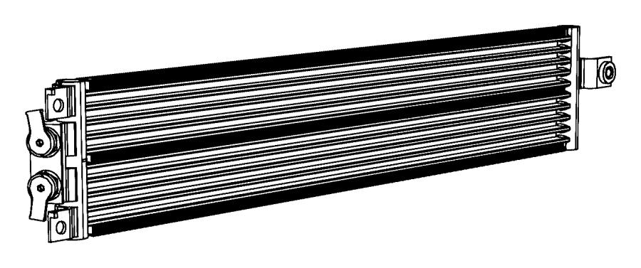 2013 Dodge Journey Cooler  Transmission Oil
