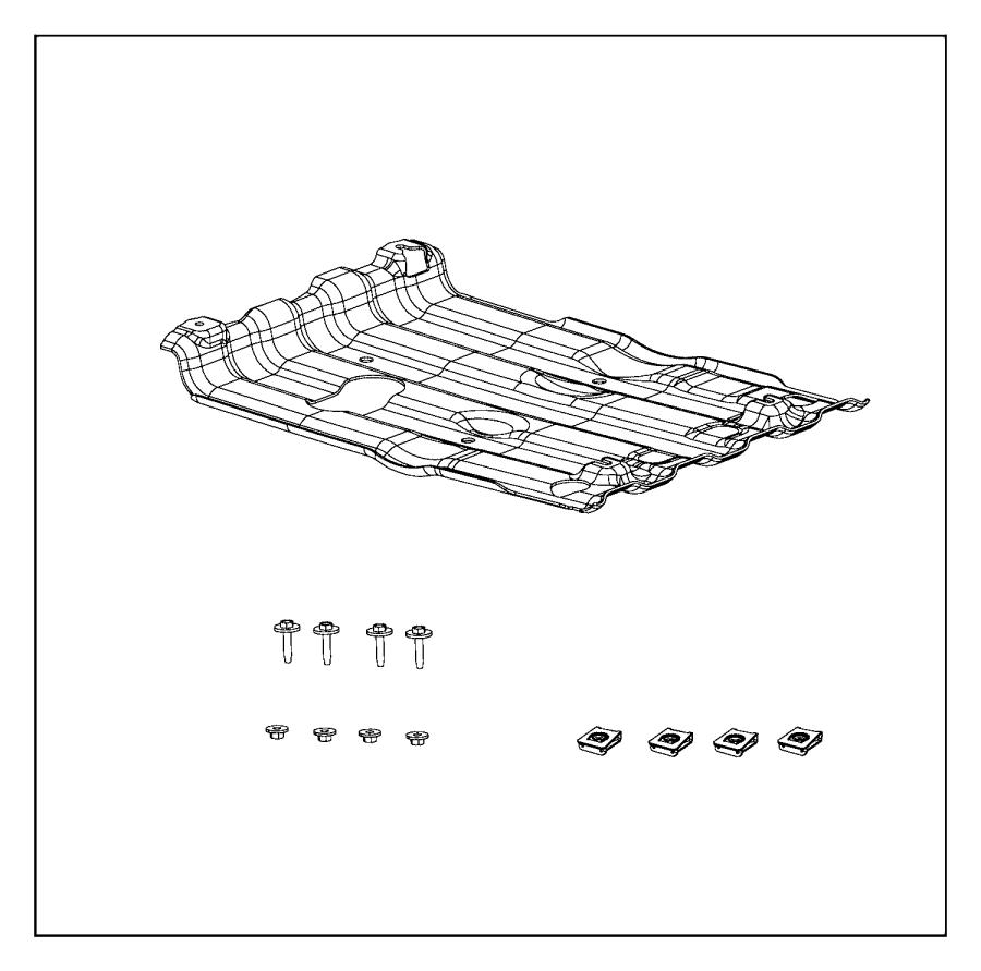 2013 Dodge Charger Plate Kit Skid Plates Skid Front