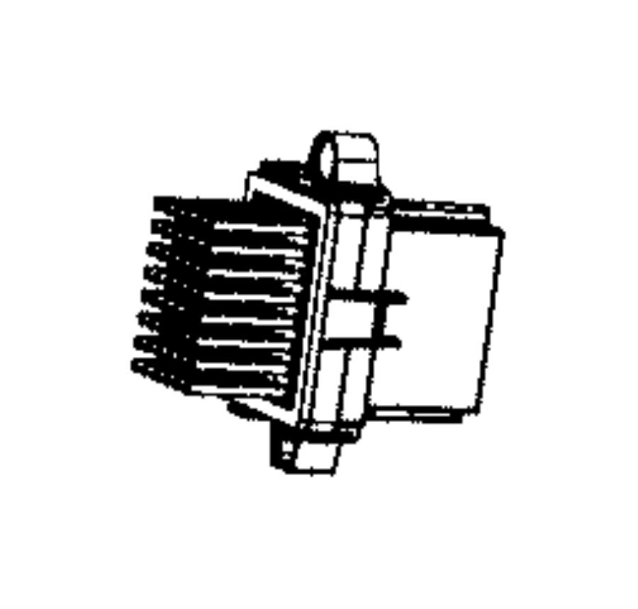2014 ram c  v module  power  blower motor  zone  temp  air