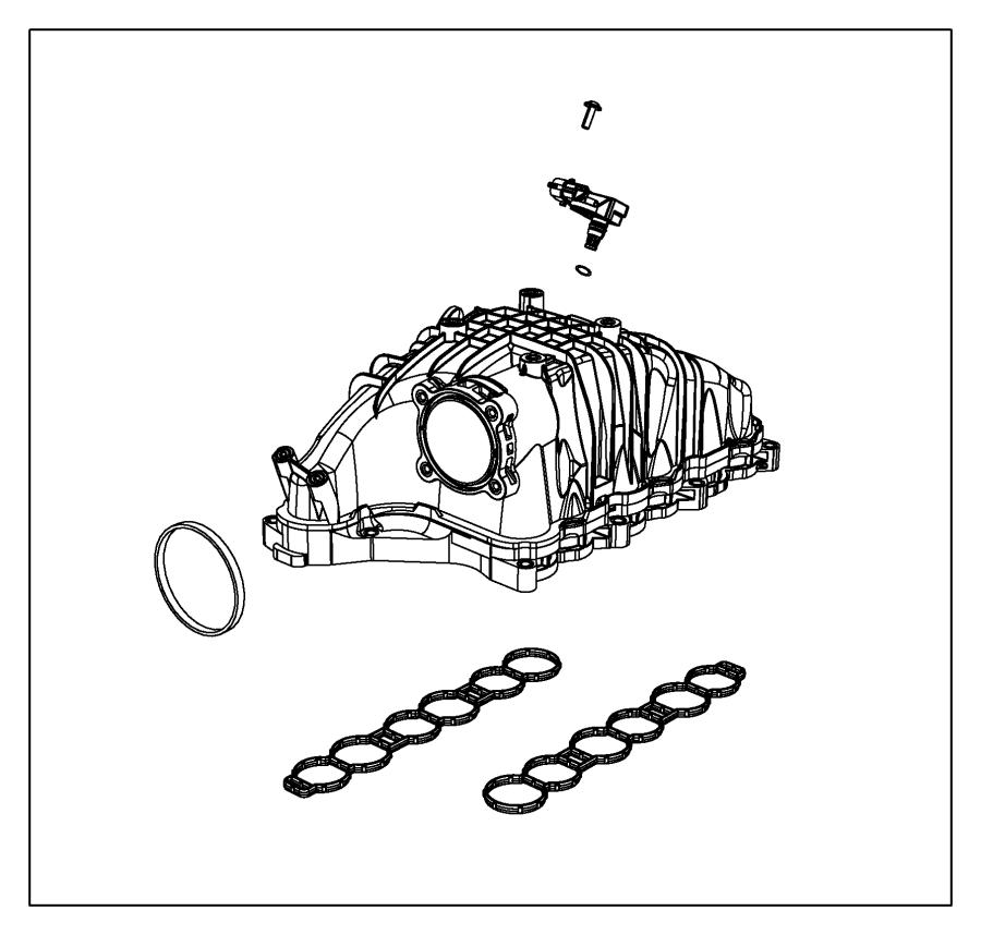 2014 jeep grand cherokee gasket kit  intake manifold  emissions  stage  euro