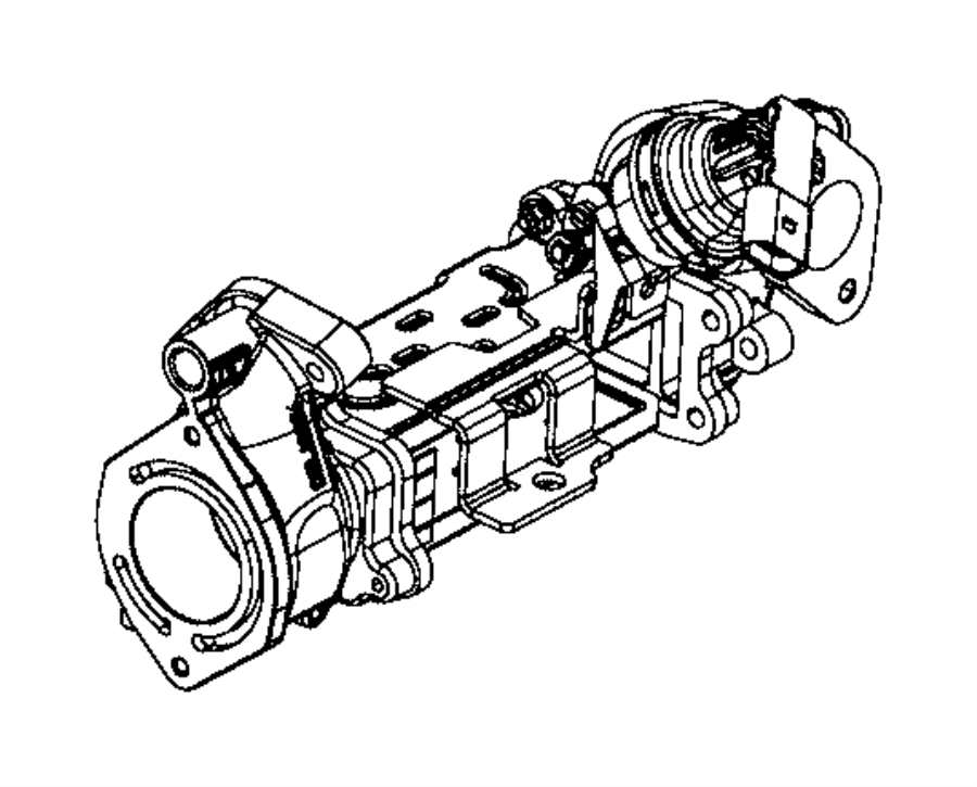 2017 jeep grand cherokee cooler kit  egr valve   na1