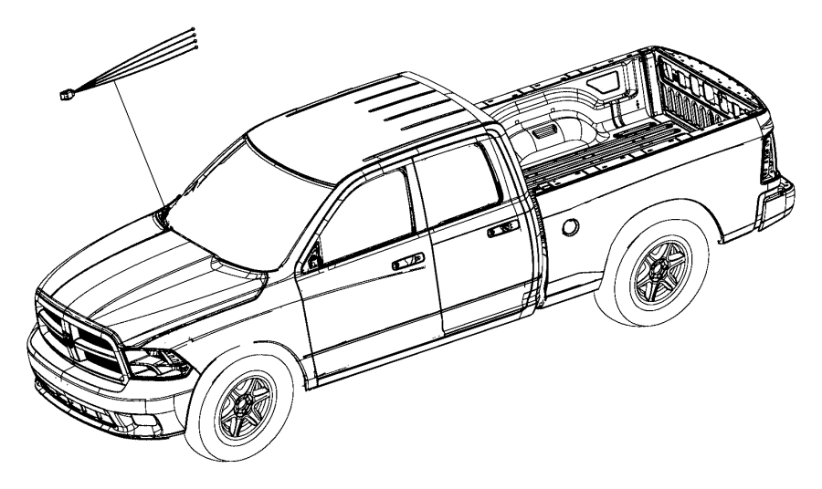 2016 ram 5500 wiring kit  trailer tow  brake  jumper