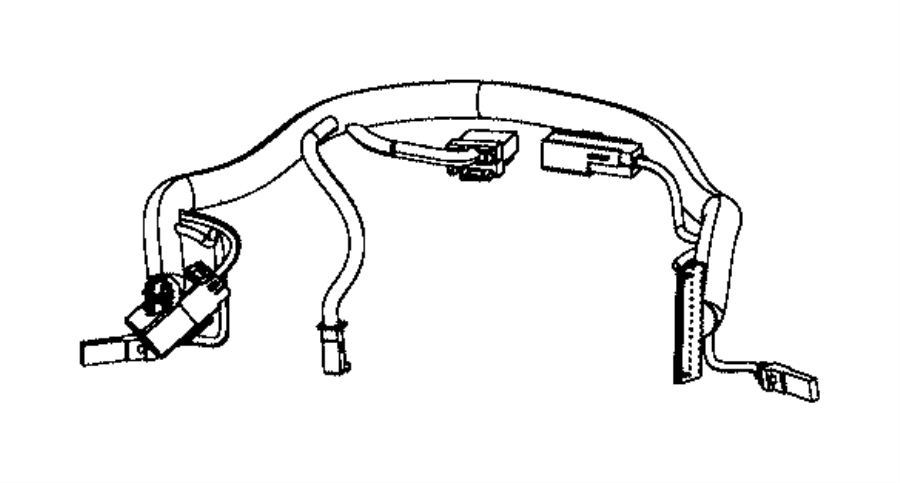 2014 dodge grand caravan wiring  steering wheel  trim