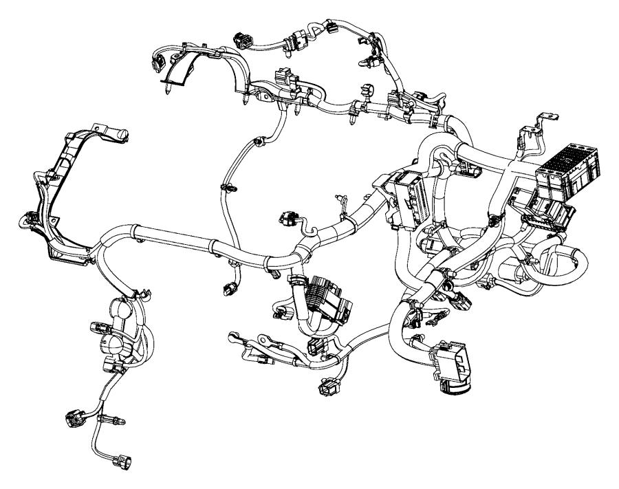 2016 ram promaster city wagon slt wiring  engine