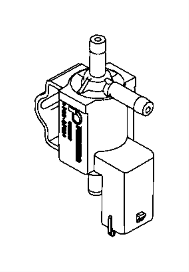 2016 jeep renegade solenoid  valve  turbo purge  waste