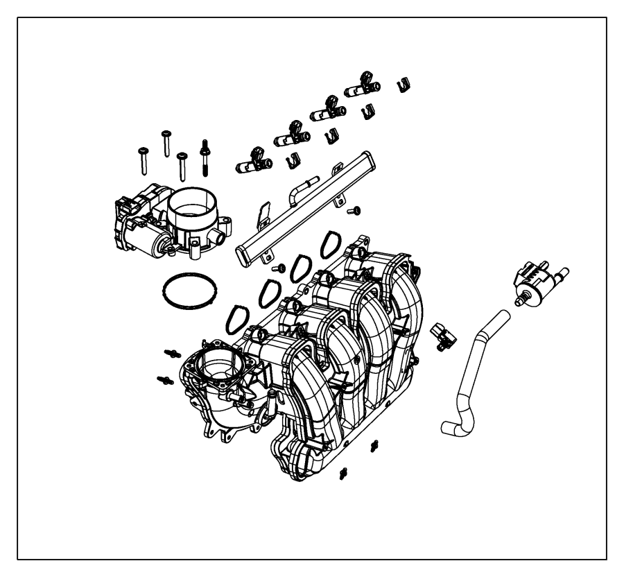 2015 jeep renegade throttle body  export  manifold  intake