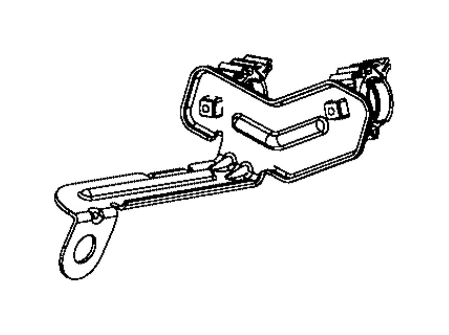2016 Jeep Renegade Bracket  Wiring  Exhaust  Oxygen