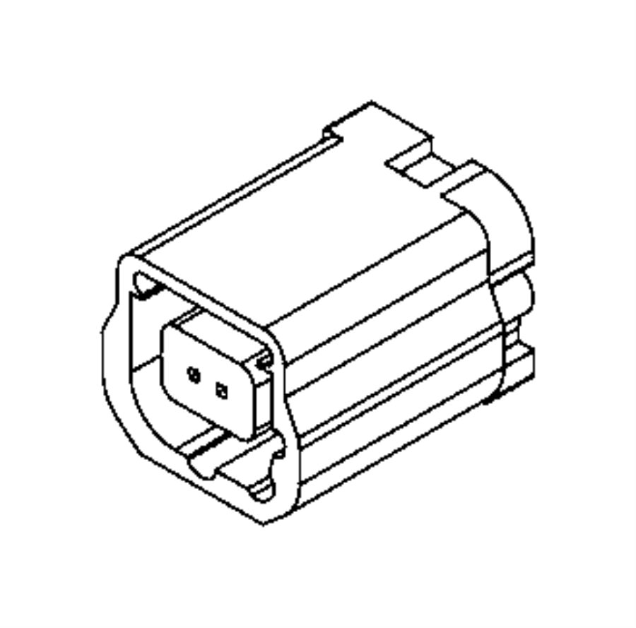 2016 ram promaster city wagon slt connector  electrical