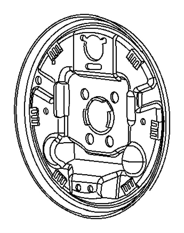2010 dodge caliber plug  brake adjusting hole  left  right