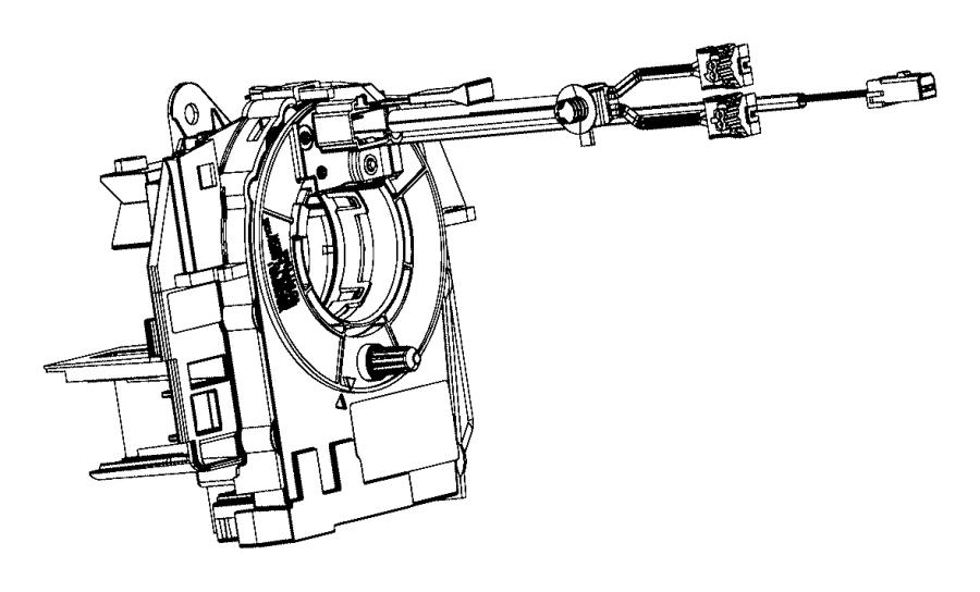 2013 dodge ram 1500 clockspring  steering column control