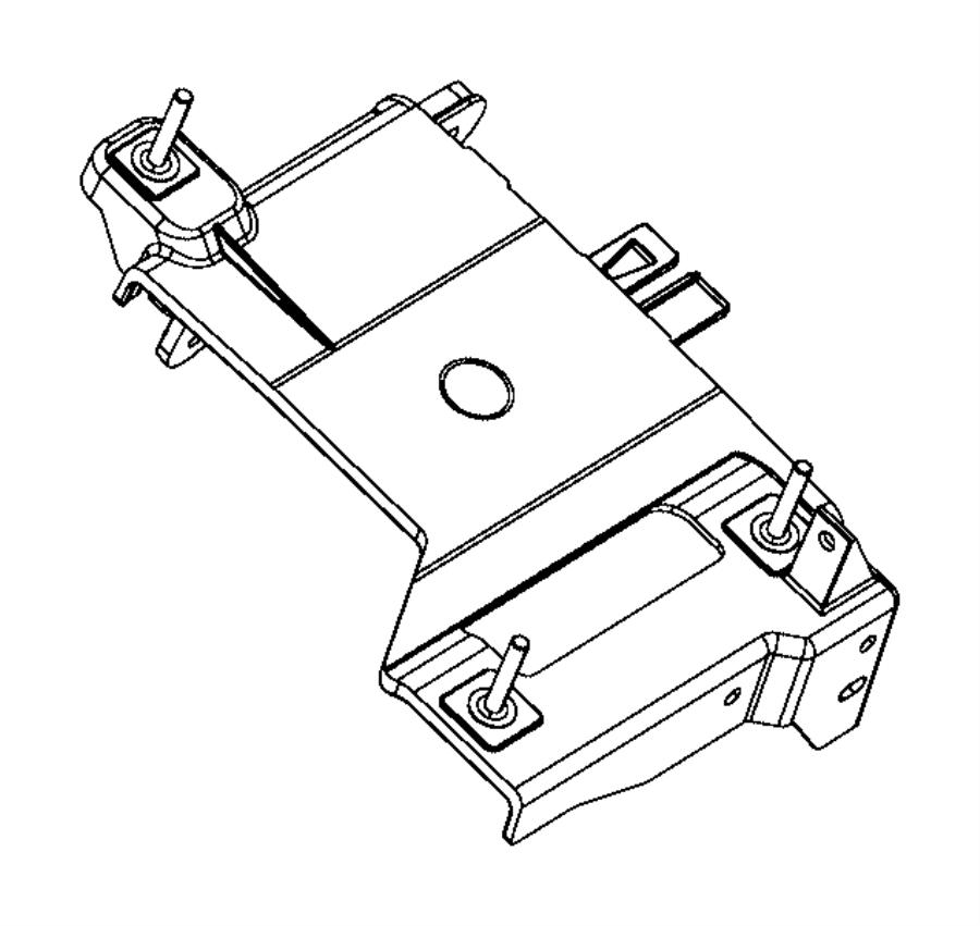 2016 jeep cherokee bracket  engine control module