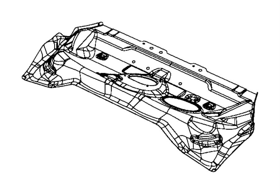 2017 jeep renegade pan  center floor  export