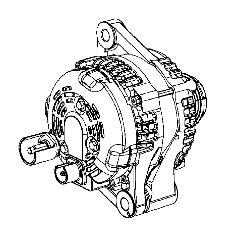2015 jeep renegade generator  engine  interchangeable with