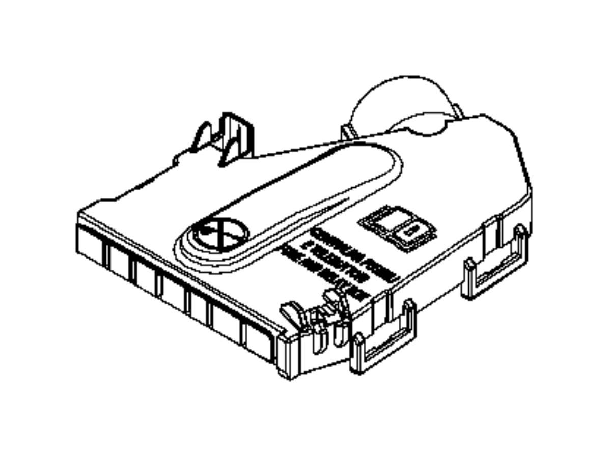 2017 jeep renegade cover  fuseblock  export  power