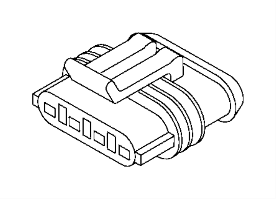 2017 jeep renegade connector  electrical  sensor  export