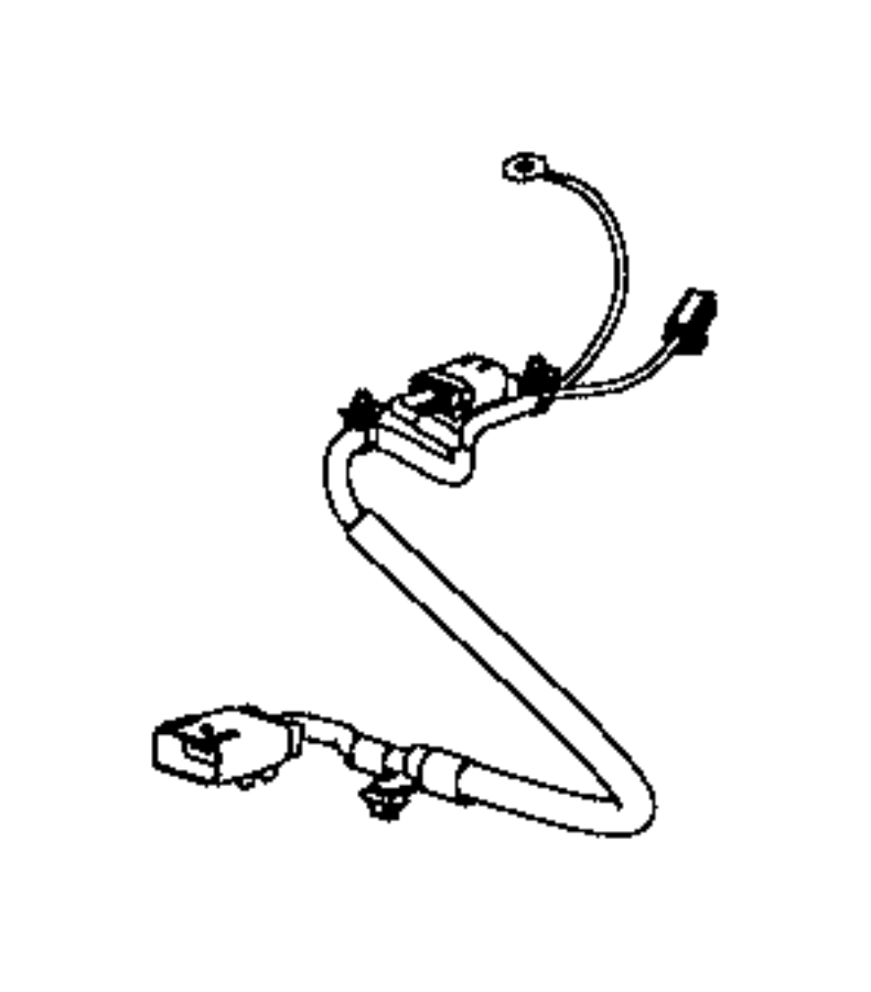 jeep compass wiring  seat cushion  side air bag  passenger  us  canada  trim   cloth
