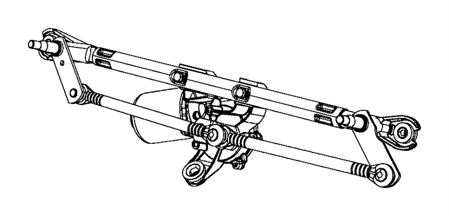 Jeep Compass Used For  Motor And Linkage  Windshield Wiper