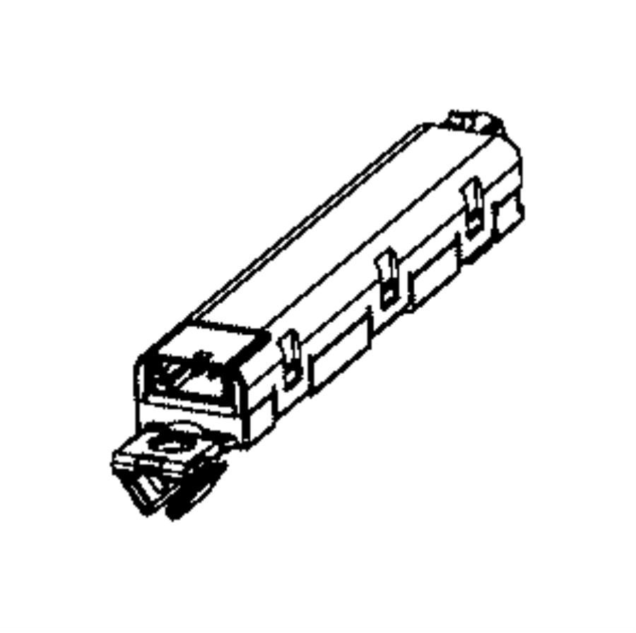 2016 Chrysler 300 Antenna. Module. [integrated Window