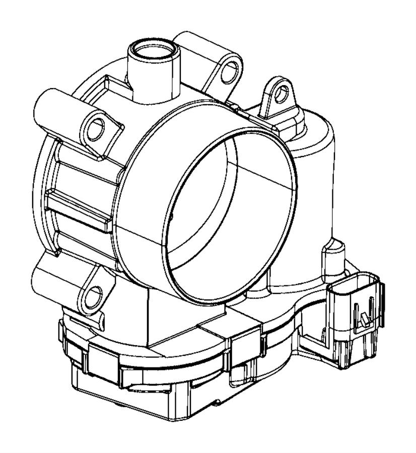 2015 jeep renegade throttle body  export  manifold  intake  edd