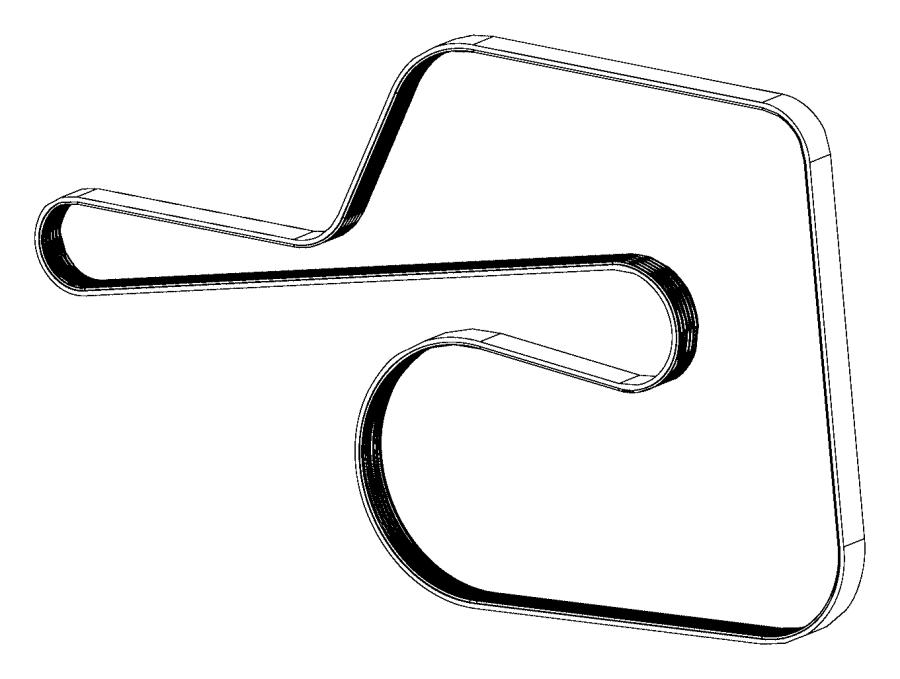 2015 dodge challenger belt  serpentine   power hydraulic