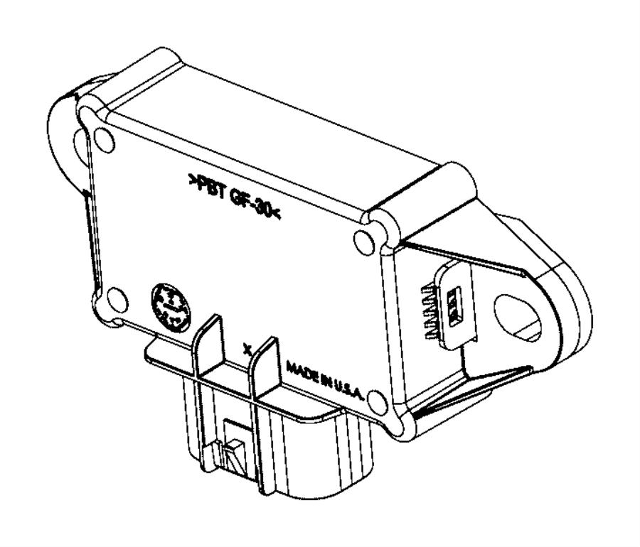 2016 dodge charger module  fuel pump control  body  tank  gallon