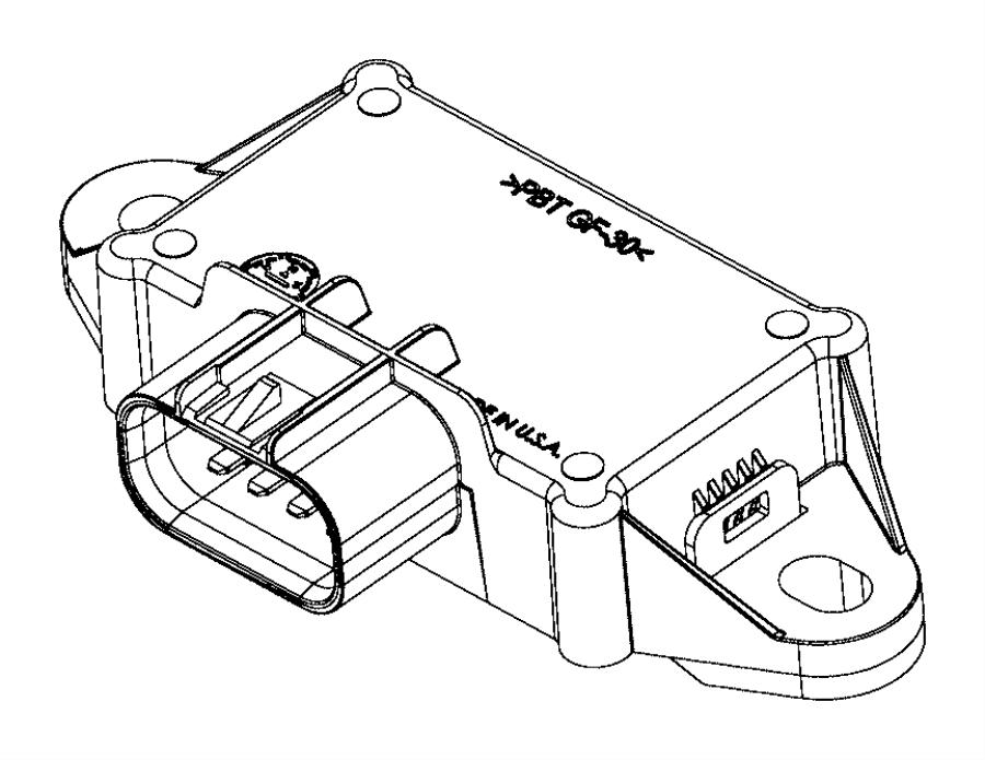 2017 dodge challenger module  fuel pump control   nfw